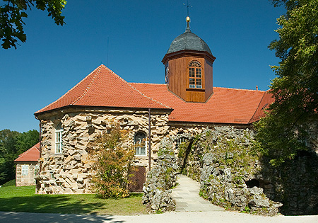 Bild: Altes Schloss Eremitage, Grottenfassade