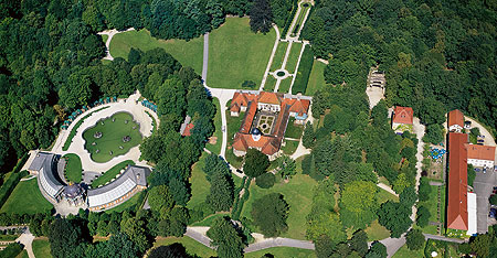 Aerial view of the Hermitage