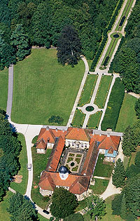 Picture: Hermitage, aerial photograph