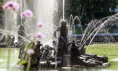 Picture: Fountains in the Large Pond