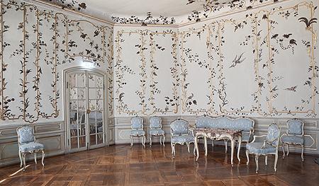 bayerische schl sserverwaltung neues schloss bayreuth rundgang japanisches zimmer. Black Bedroom Furniture Sets. Home Design Ideas