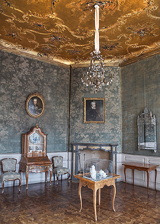 Picture: Drawing Room with a Gold Ceiling