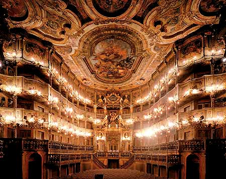 Picture: Margravial opera house, with the prince's loge