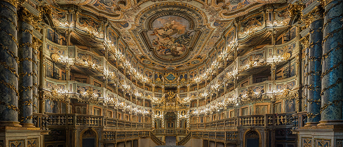 Picture: Margravial opera house, view of the prince's loge