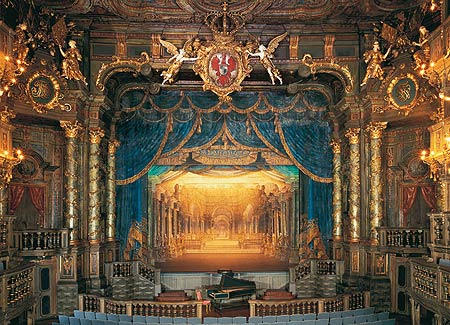Picture: The stage of the Margravial Opera House