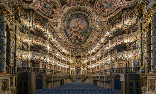 Picture: Margravial Opera House after the restoration
