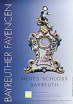 "Picture: Poster ""Bayreuth Faience"""